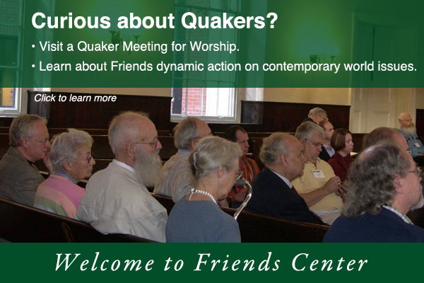 Learn more about Quakers in the heart of Philadelphia